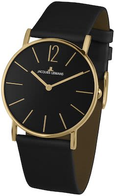 J.L. Ladies' Classic York Black/IP-Gold