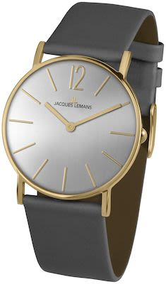 J.L. Ladies' Classic York Grey/IP-Gold