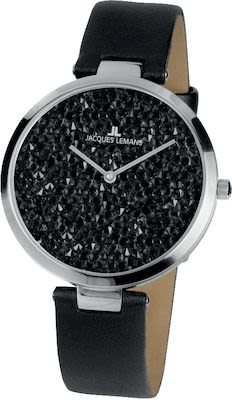 J.L. Ladies' Classic Milano Watch Black