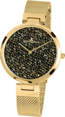 J.L. Ladies' Classic Milano Watch IP-Gold