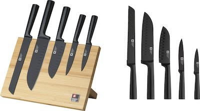 Richardson Sheffield 5-pcs Nox Knife Block Set