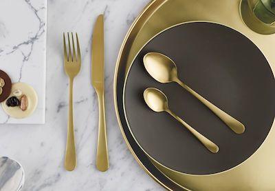 Amefa 24-pcs Austin Gold Cutlery Set
