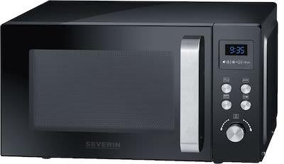 Severin MW7750 Microwave w/ Grill 20 ltr Black