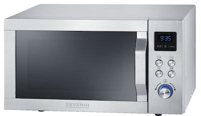 Severin MW7754 Microwave w/ Grill and Ultra-Hot-Air 25 ltr Silver