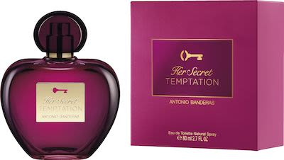 Antonio Banderas Her Secret  Temptation EdT 80 ml