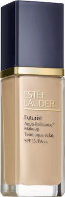 Estée Lauder Futurist Aqua Brilliance Foundation N° 1C0 Cool Porcelain 30 ml