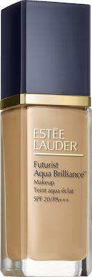 Estée Lauder Futurist Aqua Brilliance Foundation N° 2W0 Warm Vanilla 30 ml