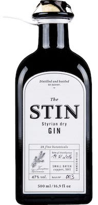 The Stin Styrian Dry Gin 50 cl. - Alc. 47% Vol.