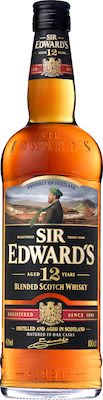 Sir Edwards Scotch Whisky Aged 12 YO 100 cl. - Alc. 40% Vol.
