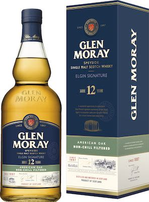 Glen Moray 12 YO 100 cl. - Alc. 48% Vol. Speyside.