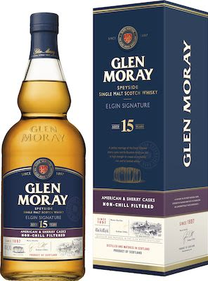 Glen Moray 15 YO 100 cl. - Alc. 48% Vol.