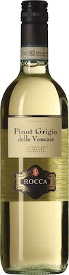 Rocca Pinot Grigio Delle Venezie 75 cl. - Alc. 12,5% Vol.