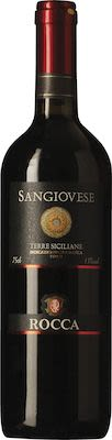 Rocca Sangiovese Terre Siciliane I.G.T 75 cl. - Alc. 13% Vol.