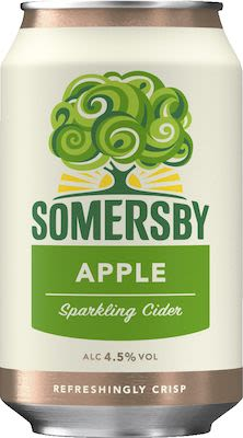Somersby Apple Cider 24x33 cl. cans. - Alc. 4,5% Vol.