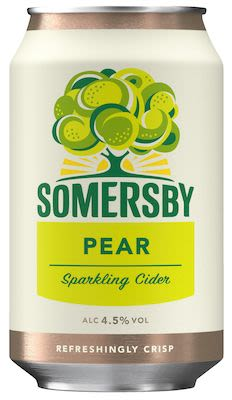 Somersby Pear Cider 24x33 cl. cans. - Alc. 4,5% Vol.