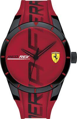 Scuderia Ferrari Gent's Red rev Watch