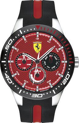 Scuderia Ferrari Gent's Red rev T Watch