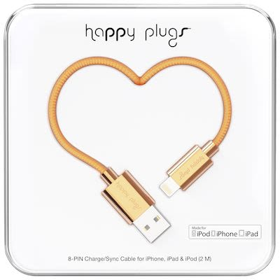 Happy Plugs Lightning to USB Cable
