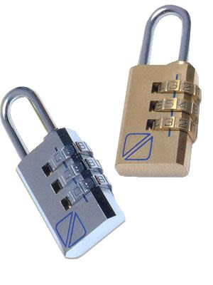 Travel Blue Padlock Set