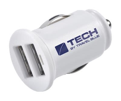 Travel Blue Dual USB Car Charger
