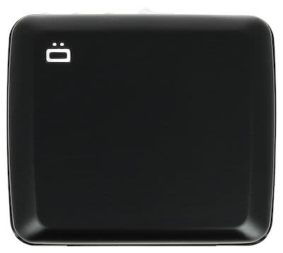 Ögon Unisex Card Holder black