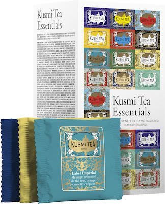 Kusmi tea essentials 24 enveloped tea bags