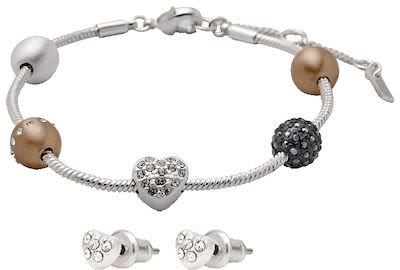 Pilgrim Ladies' Bracelet & Earring Set