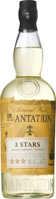 Plantation Three Stars White 70 cl. - Alc.  41,2% Vol.