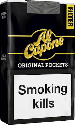 Al Capone Pockets Filter 10x10 pcs
