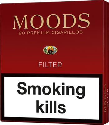 Dannemann Moods Filter 5x20 pcs