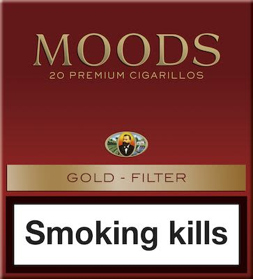 Dannemann Moods Gold Filter 5x20 pcs