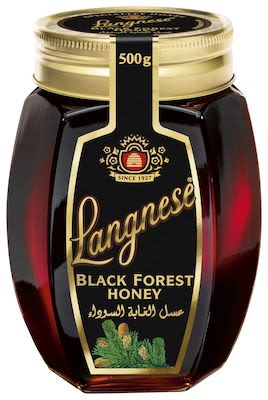Langnese Black Forest Honey in glass jar 500 g