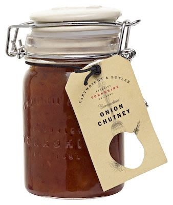 Cartwright & Butler Caramalized Onion Chutney in glass 250 g