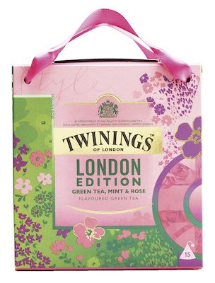 Twinings London Edition Green Tea, Mint & Rose 12x2.5g