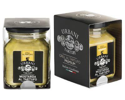 Urbani Tartufi truffle mustard 90 g