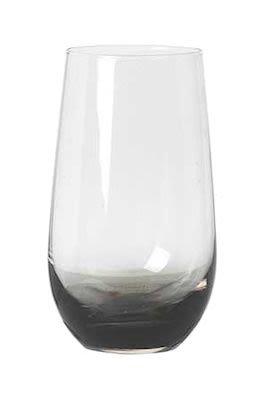Tumbler 'Smoke' mouthblown glass 24 pcs