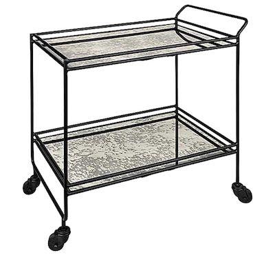 Bar wagon iron/glass