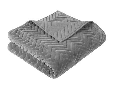 Bedspread 'Chevron' cotton