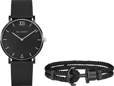 Paul Hewitt Gent's Watch and Bracelet Set