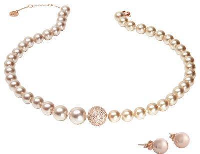 Misaki Ladies' Enjoy Rose Gold Set