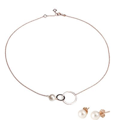 Misaki Ladies' Rhythm Rose Gold Set