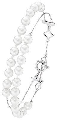 Misaki Run Silver Bracelet