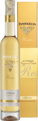 2017 Inniskillin Gold Vidal Icewine 37.5 cl. - Alc. 9.5% Vol. In gift box.