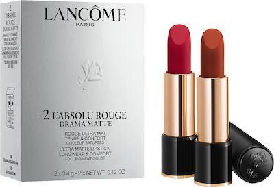 Lancôme L'Absolu Rouge Lipstick Drama Matte Set