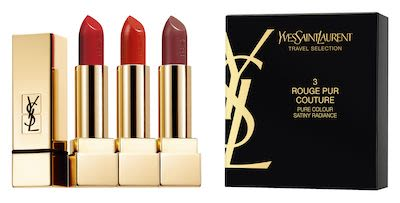 YSL Rouge Pur Couture Travel Retail Exclusive Trio Set