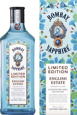 Bombay Sapphire English Estate 100 cl. - Alc. 41% Vol. In gift box