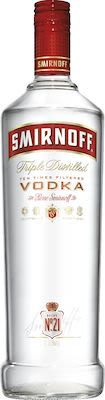 Smirnoff Vodka 100 cl. - Alc. 40% Vol.