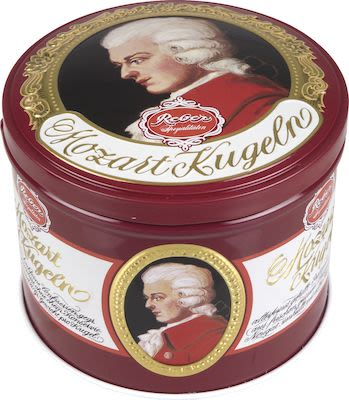 Reber Mozart Kugeln in luxury tin 300g