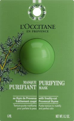 L'Occitane Infusions Purifying Mask 6 ml