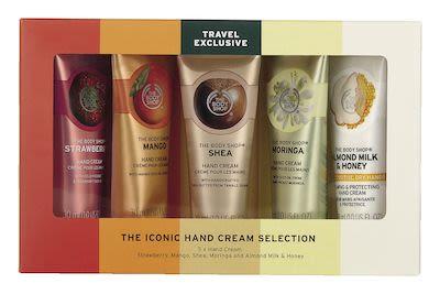 The Body Shop Core Hand Creams Set